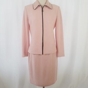 St. John Collection by Marie Gray Pink Suit